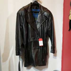 Unbranded Leather Car Coat COAT | 24217