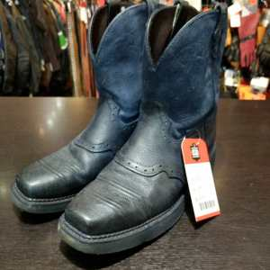 JUSTIN Leather Western BOOTS | 24315