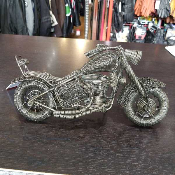 Wire Metal Motorcycle TCHOTCKES | 24324