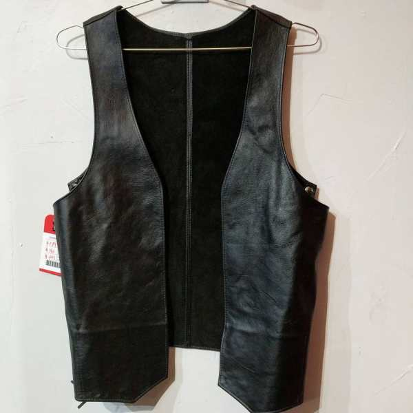 MACK'S LEATHER Leather Bar VEST | 24494