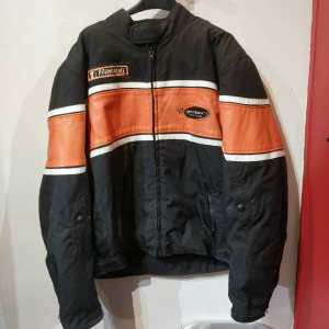 GEARBOX Mixed Material Riding JACKET | 24554