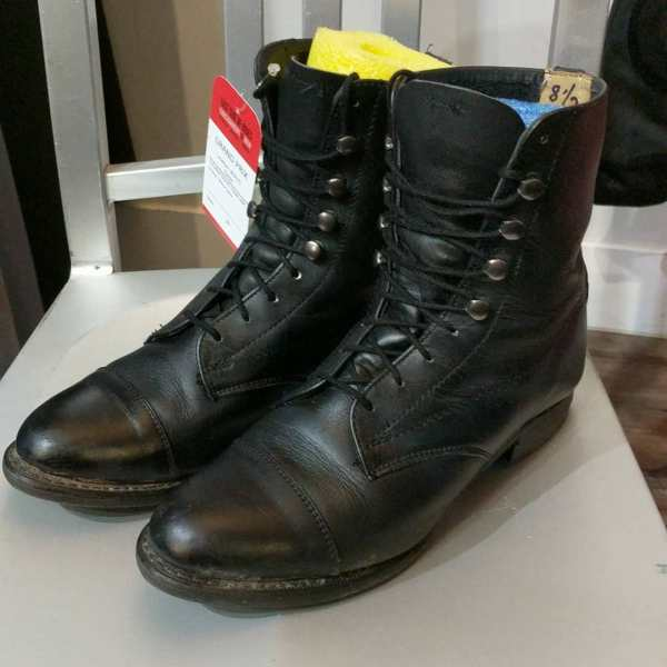 GRAND PRIX Leather Packer BOOTS   24619