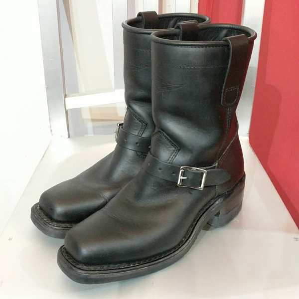 DAYTON Leather Confederate BOOTS