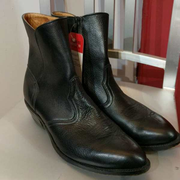 BOULET Leather Western BOOTS   24662