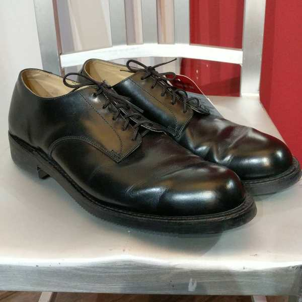 Police Leather Oxford SHOES | 24671