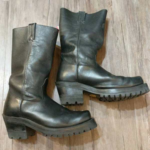 CANADA WEST Leather Western Biker + BOOTS | 24711