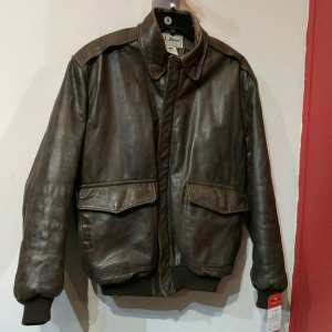 LL BEAN Leather Flying Tiger JACKET | 24762