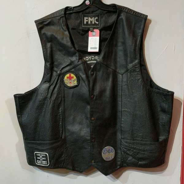 FMC Leather Gambler VEST   24773