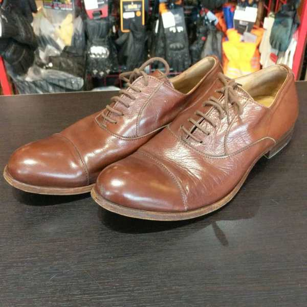 MOMA Leather Oxford SHOES | 24776