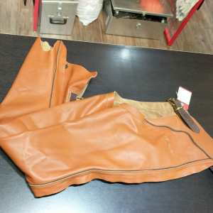 M. Dicima Leather Riding CHAPS | 24868