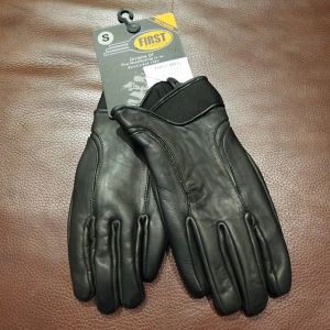 FIRST MFG Leather Wristlength NEW GLOVES R1337