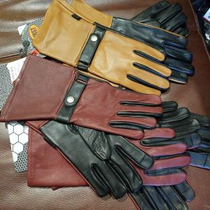 FIRST MFG Leather Gauntlet NEW GLOVES R1339