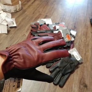 FIRST MFG Leather Roper NEW GLOVES R1344