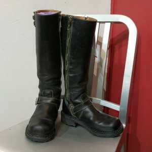 JOHN FLUEVOG Leather BondGirl BOOTS | 24939