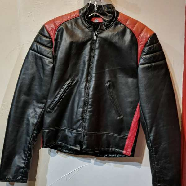 FALCON Leather Cafe Racer JACKET   25403