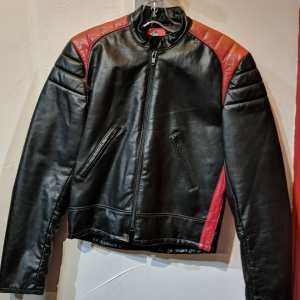 FALCON Leather Cafe Racer JACKET | 25403