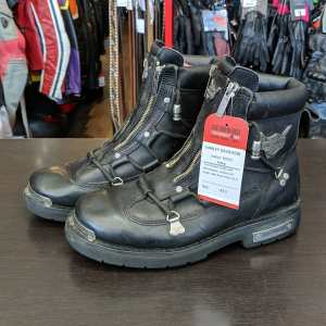 HARLEY DAVIDSON Leather Riding BOOTS   25540