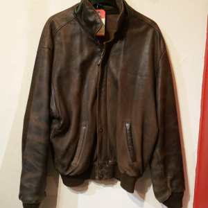 ROOTS Leather Bomber JACKET | 25339