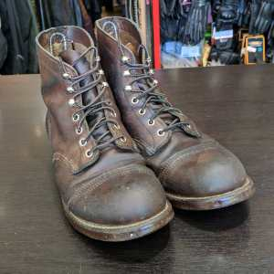 RED WING Leather Iron Ranger BOOTS | 25887