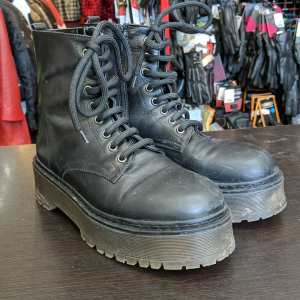 Unbranded Leather Combat BOOTS | 25809