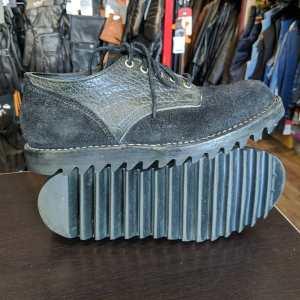 VIBERG Leather Saddle Oxford SHOES | 26046