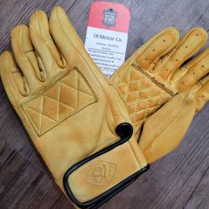 78 Motor Co. Sirocco Leather GLOVES | 26226