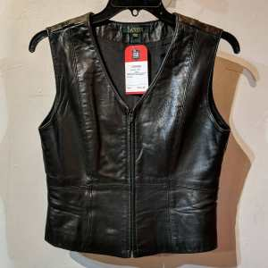 DANIER Fitted Leather VEST | 26219