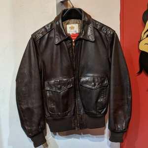 GOLDEN BEAR Bomber Leather JACKET | 26196
