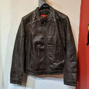 THREADS of APOLLO Cafe Racer Leather JACKET   26131