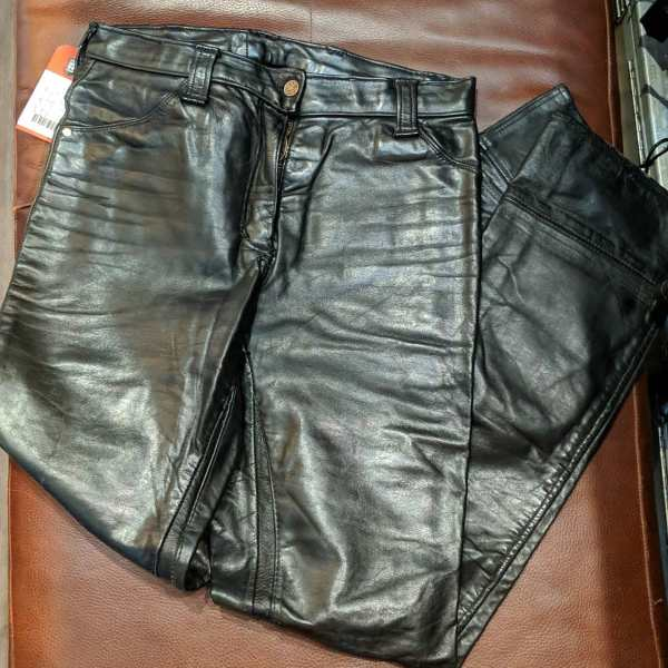 UNBRANDED Riding Leather PANTS   26237