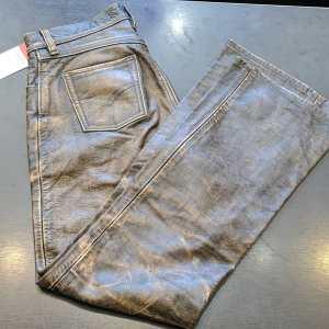 Unbranded 5-Pocket Leather PANTS | 26306