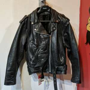 Unbranded Biker Classic Leather JACKET | 26261