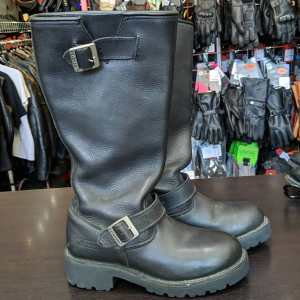 XELEMENT Tall Engineer Leather BOOTS | 26333