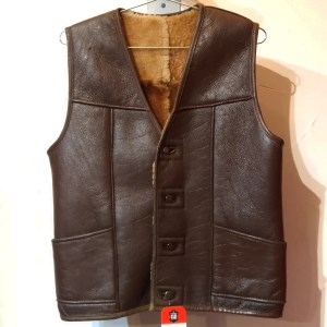 RALPH'S LEATHER Shearling Leather VEST | 26463