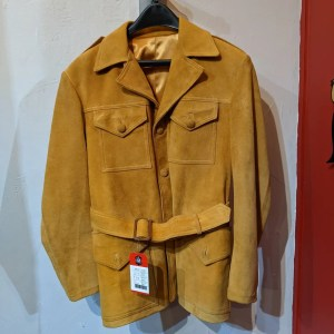Ralph's Leather Four pocket Leather (Suede) COAT   26517