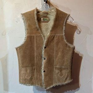 UNBRANDED Sherpa Leather (Suede) VEST | 26461