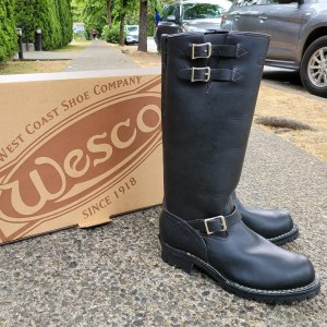 """WESCO Boss 16"""" Leather BOOTS 