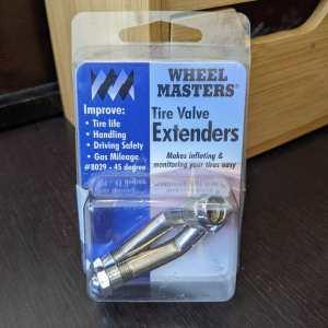 WHEEL MASTERS Tire Vavle Extenders Metal BIKE BIT | 26416