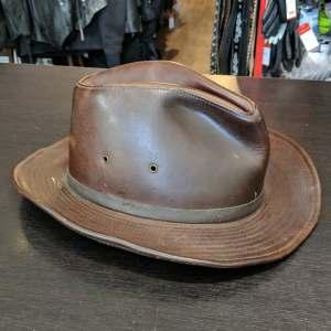 HENSCHEL Osage Safari Leather HAT   26672