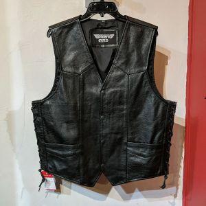 BIKER'S CLUB Gambler Leather VEST | 27043