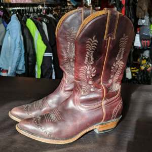 BOULET Western Leather BOOTS   27318