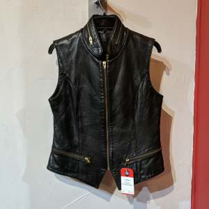 DANIER Gambler Leather VEST | 27153