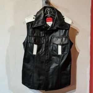 PRIAPE Sleeveless Police Shirt Leather VEST | 27107