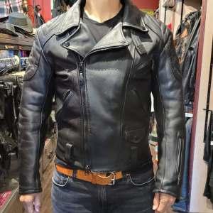 S&H Classic Biker Plus Leather JACKET   27229