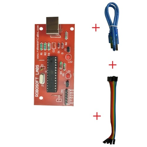 8051 Microcontroller Isp Programmer For At89s51 52 Series Erase