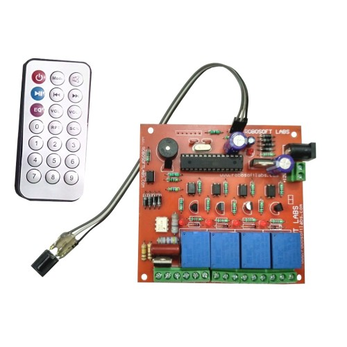 Remote Control Switch Circuit 5 Remotecontrolcircuit Circuit