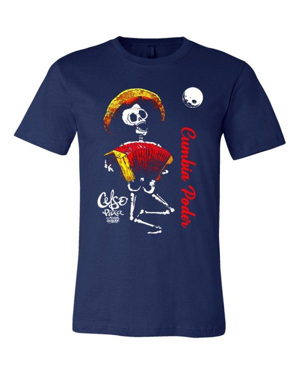 Celso Piña Cumbia Poder T shirt