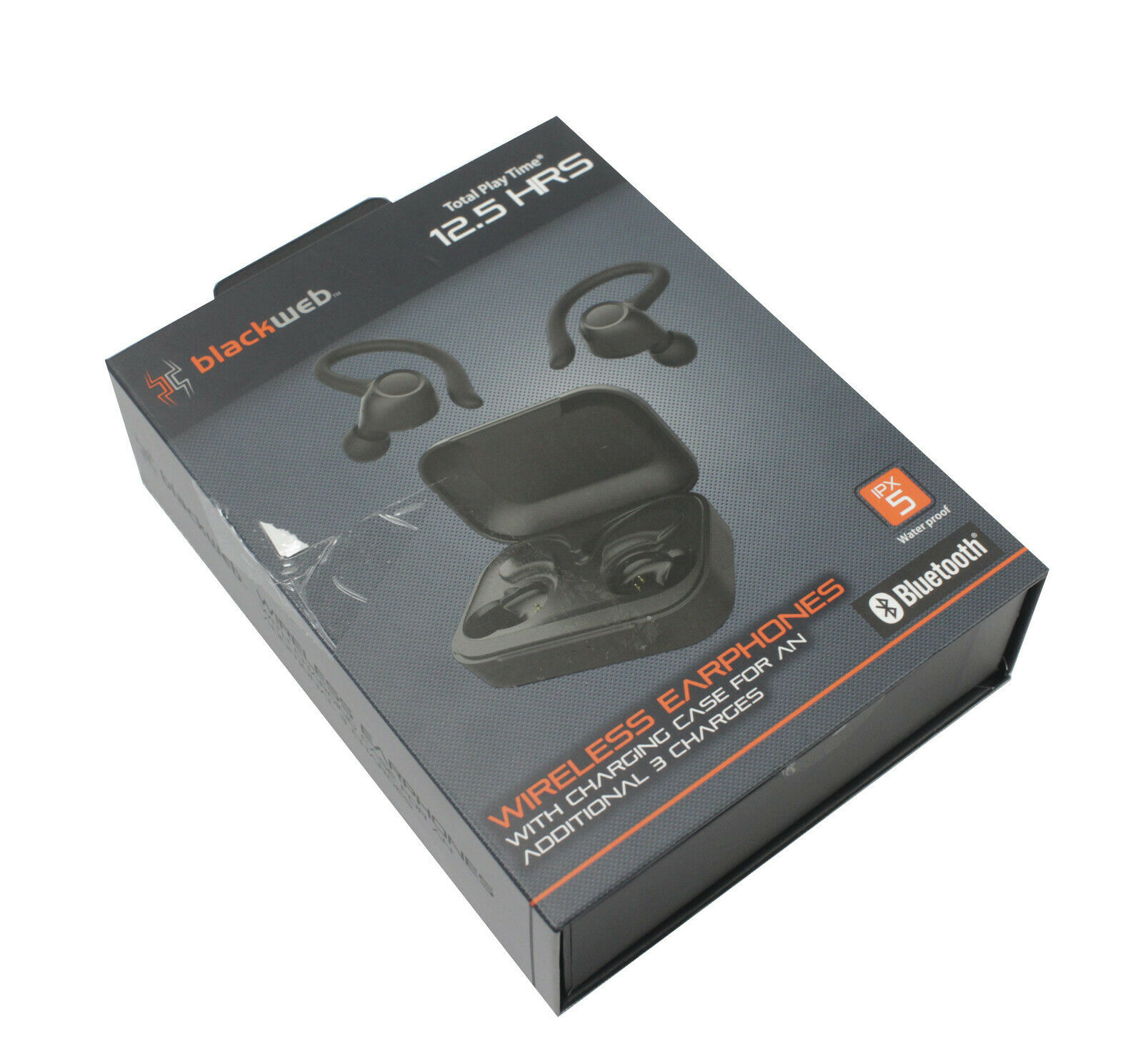 Blackweb True Wireless Bluetooth Earbuds Black With Charging Base Bwd19aah06 Rpc Global Technology Store Houston Tx Certified Refurbishers