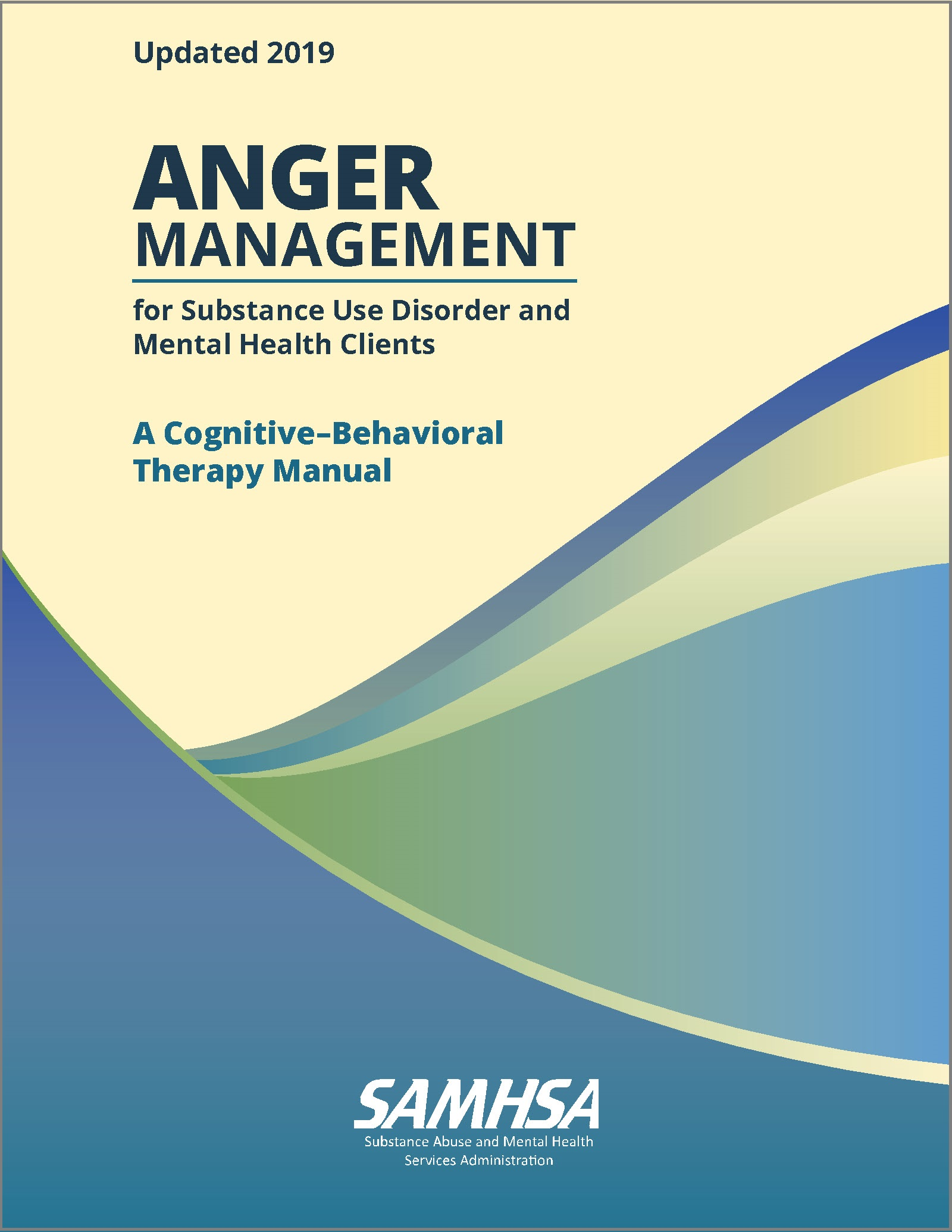 Anger Management For Substance Abuse And Mental Health