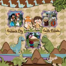 Layout made by Linda Rae using Dino Collection by Charly Renay